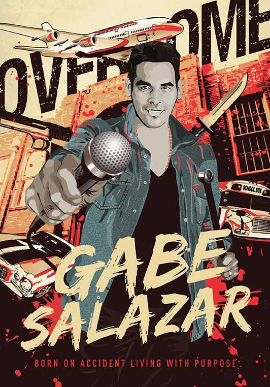 Gabe Salazar Podcast - Born on Accident, Living with Purpose